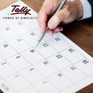 Task Manager in Tally