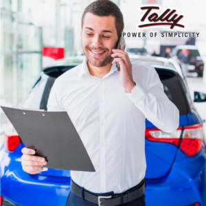 Salesman wise report in Tally