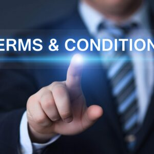 Terms and Conditions on Tally Invoice